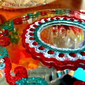 Diwali Decor DIY Candle holder