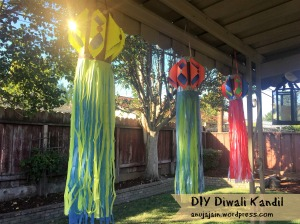 DIY Diwali Paper Kandil
